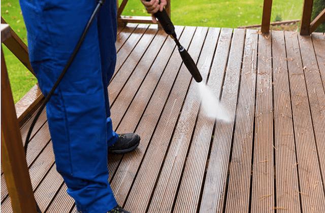 deck cleaning grand prairie