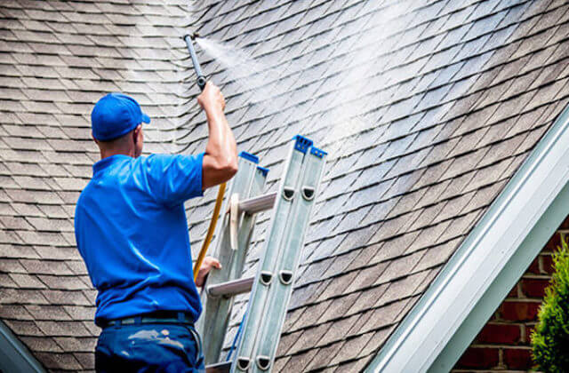 grand prairie roof cleaning